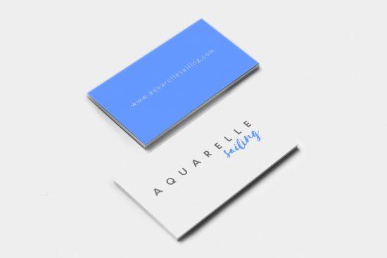 Tarjetas Aquarelle Sailing